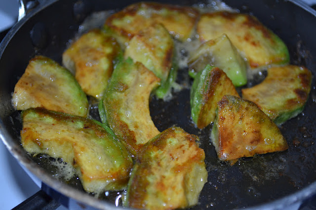 Simple, healthy avocado fries