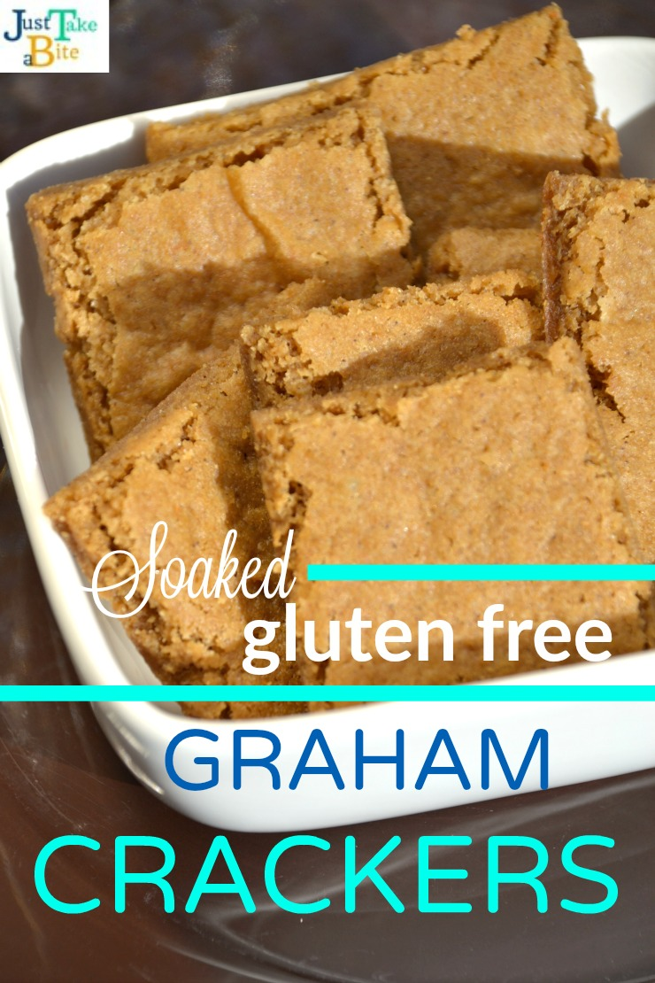 Soaked Gluten Free Graham Crackers | Just Take A Bite