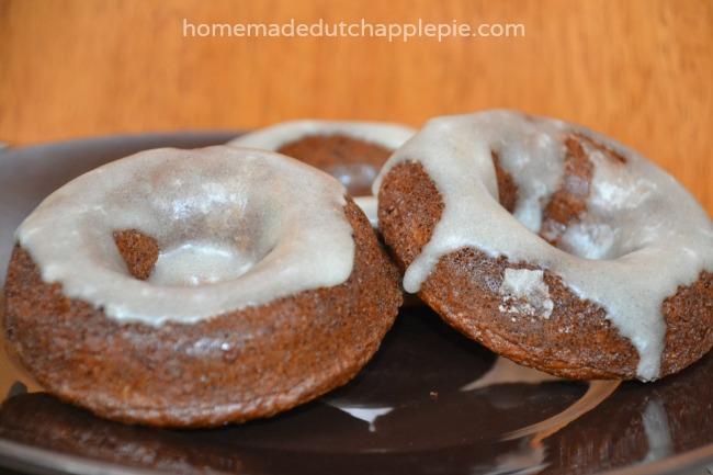 Soaked Donuts With Chocolate Vanilla and Lemon Glaze: Gluten Free Dairy Free Nut Free Corn Free || Homemade Dutch Apple Pie 4