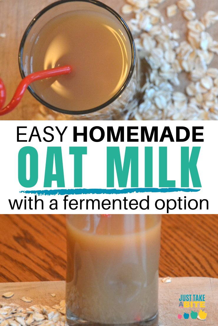Looking for a unique dairy alternative that does not contain coconut or nuts? This homemade oat milk is cheap, easy to make, and delicious.