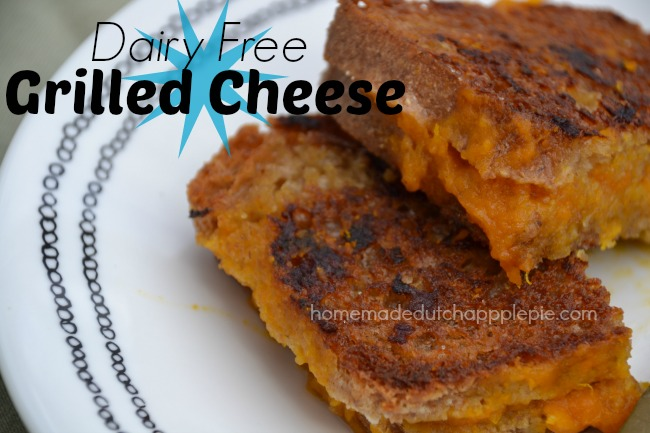 Dairy Free Grilled Cheese