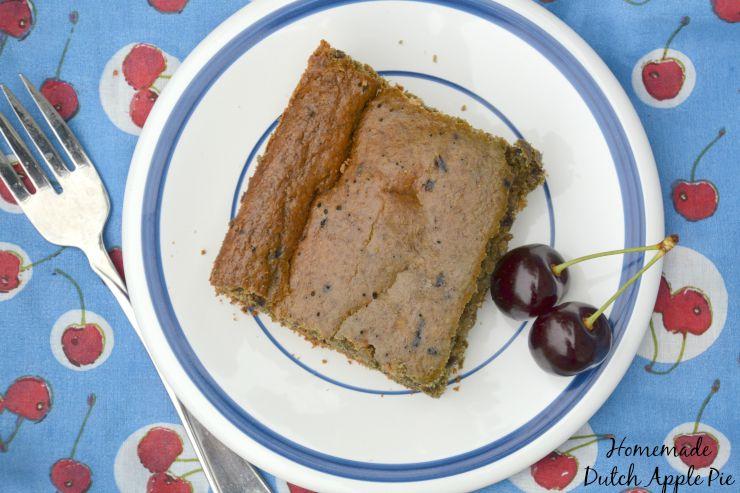 Blender To Oven Maple Cherry Baked Oatmeal | Homemade Dutch Apple Pie