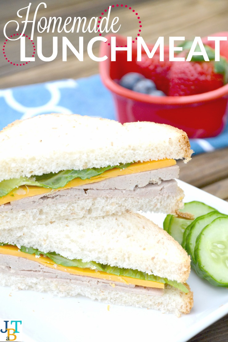 Homemade lunch meat makes packing healthy lunch a breeze. Plus it's great for little ones too!