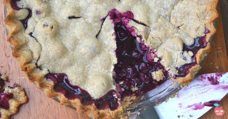 Traditional blueberry pie is a family classic handed down through generations. This blueberry pie recipe is easy-to-make and will turn anyone into a blueberry lover!
