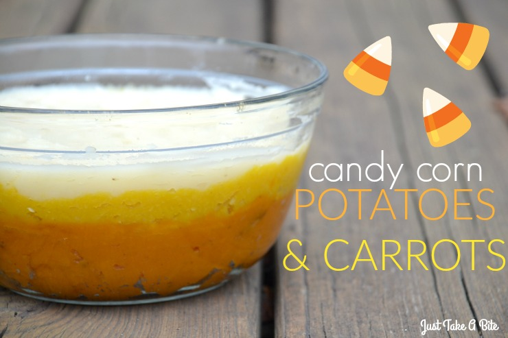 Candy Corn Potatoes And Carrots | Just Take A Bite