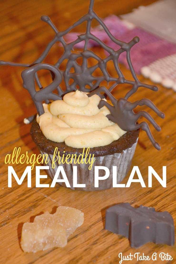 Allergen Friendly Meal Plan| Just Take A Bite