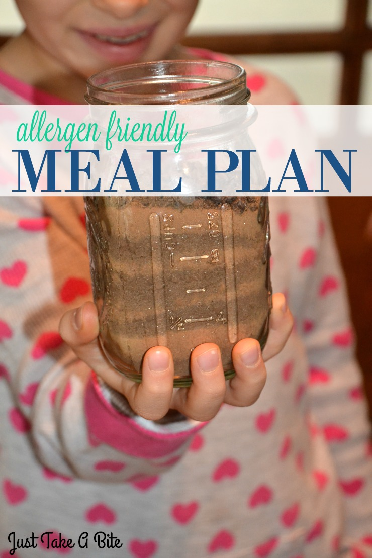 Allergen Friendly Meal Plan | Just Take A Bite