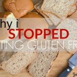 Why I Stopped Eating Gluten Free | Just Take A Bite