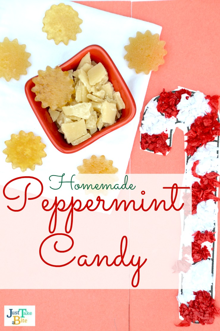 Homemade Peppermint Candy | Just Take A Bite