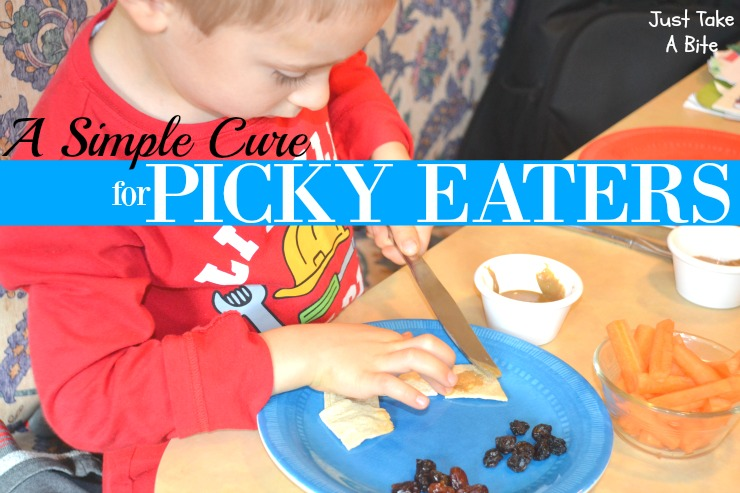 A Simple Cure For Picky Eaters | Just Take A Bite