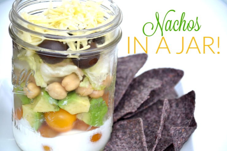 Nachos In A Jar | Just Take A Bite