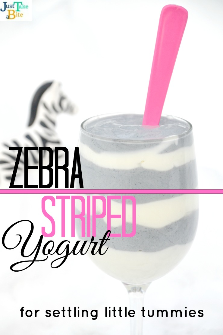 zebra striped yogurt | Just Take A Bite