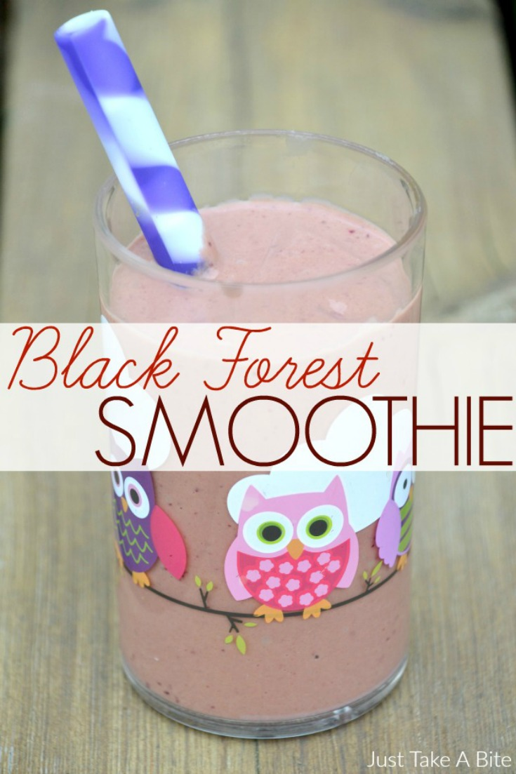 Black Forest Smoothie | Just Take A Bite