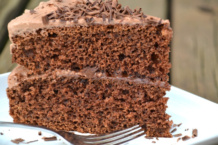 Divine Chocolate Cake | Just Take A Bite