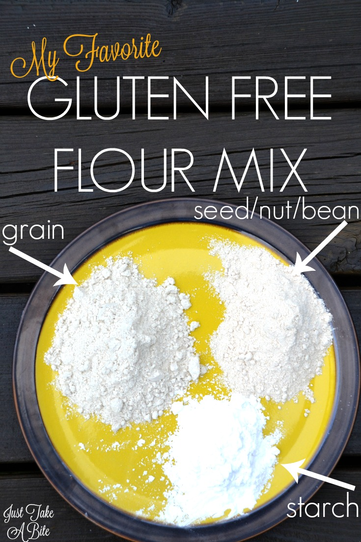 My Favorite Gluten Free Flour Mix | Just Take A Bite