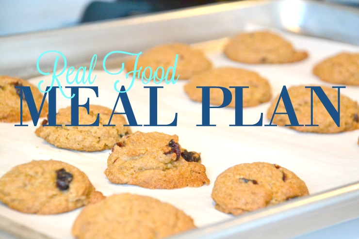 Real Food Meal Plan | Just Take A Bite