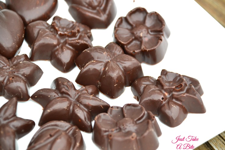 Two Ingredient Allergen Friendly Nestle Crunch Bites | Just Take A Bite