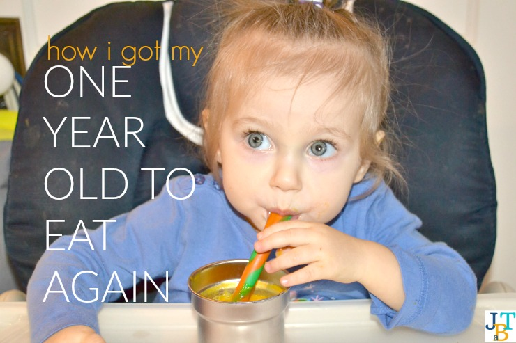 How I Got My One Year Old To Eat Again | Just Take A Bite