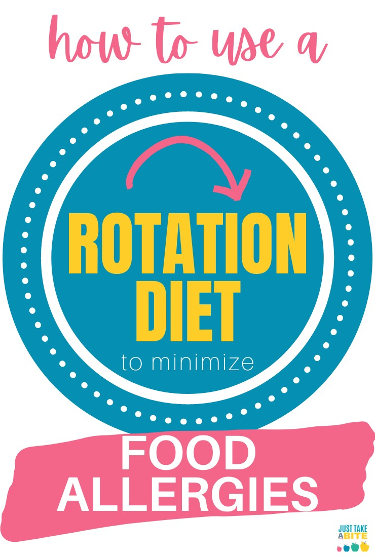How to use a rotation diet to minimize food allergies and introduce new foods with ease. #foodallergies #feedingkids #healthykids