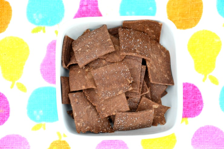 Soaked Teff Crackers | Just Take A Bite
