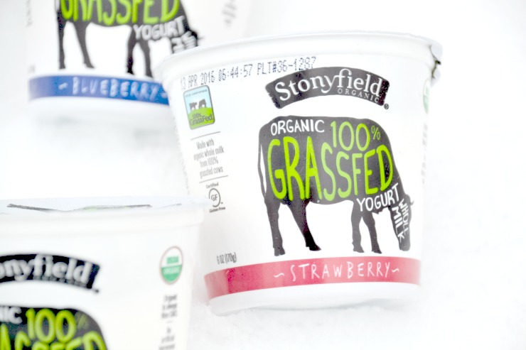 Stonyfield Grassfed Yogurt and Whole Milk Greek Yogurt Review | Just Take A Bite
