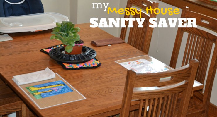 This messy house sanity saver only takes minutes but could have a huge impact on the whole family.