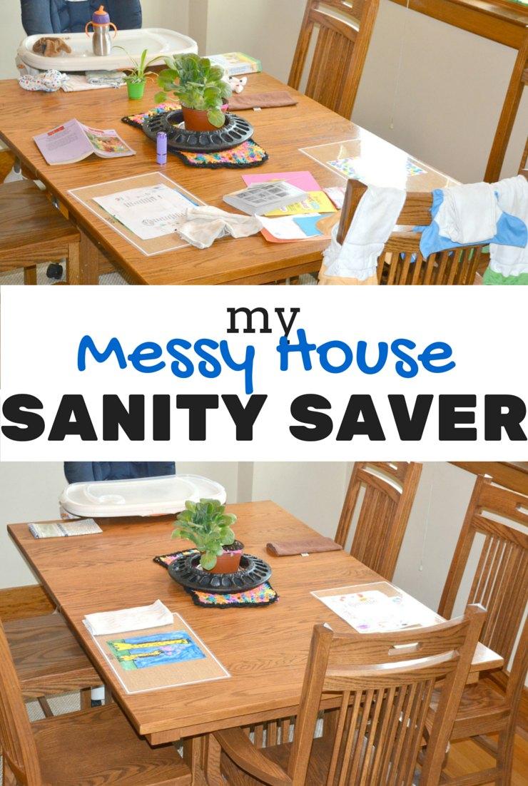 My Messy House Sanity Saver
