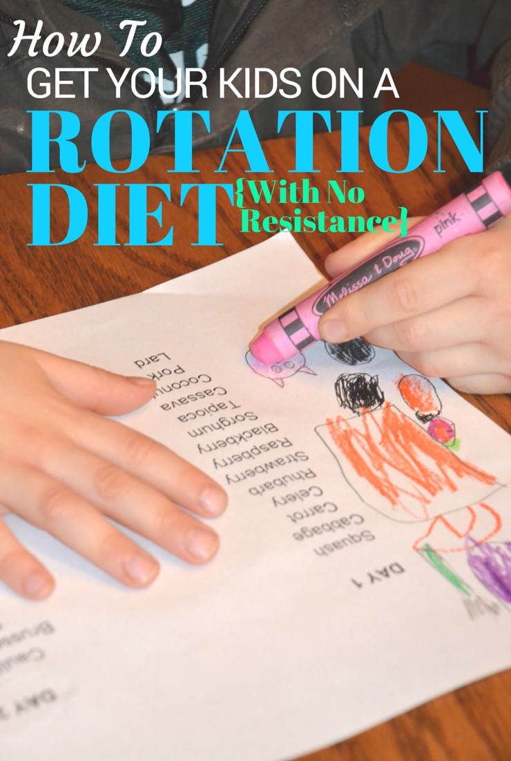 No more fights. No more allergies. Learn how to get your kids on a rotation diet.