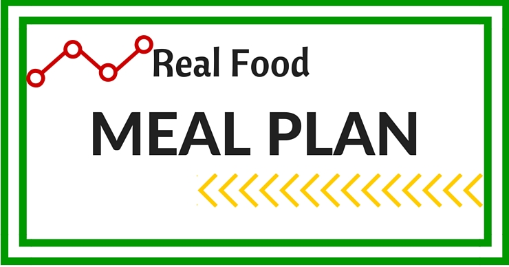 The weekly Real Food Meal Plan with lots of allergen friendly meals from Just Take A Bite