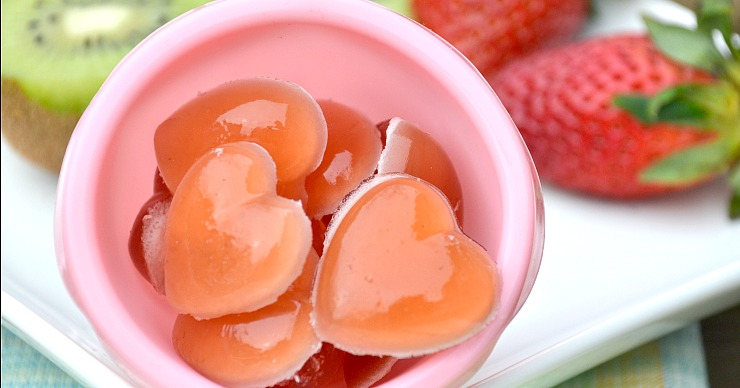 Real fruit combined with grass-fed gelatin create the perfect snack - strawberry kiwi gummies.