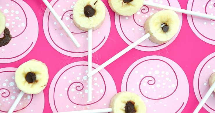 These chocolate filled frozen banana bites make the perfect allergen friendly cold summer treat.