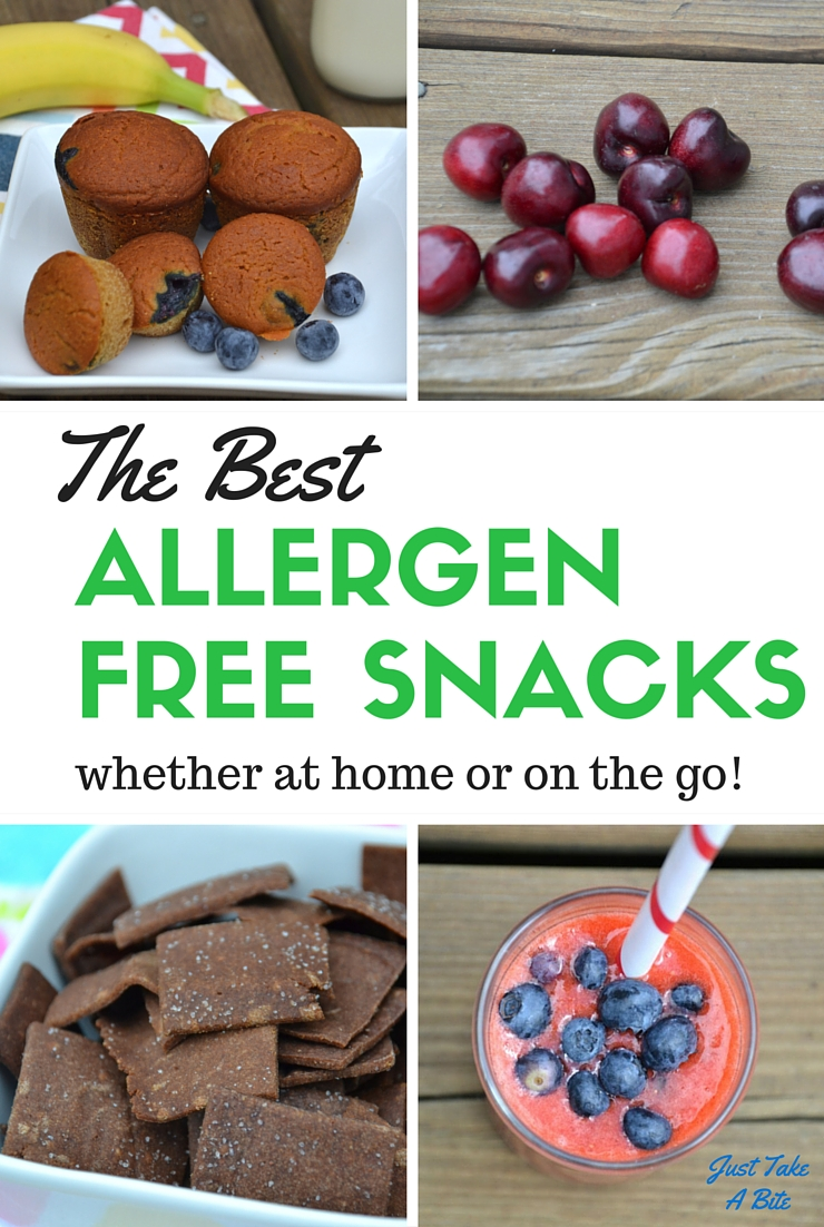 Look no farther! I've got the BEST allergen free snacks so you can enjoy summer and stay safe.