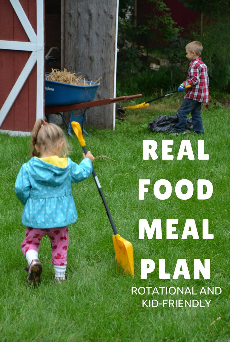 This week's real food meal plan and agenda focus on doctor appointments, packing and super simple meals. I'll be spending most of my time out of the kitchen.