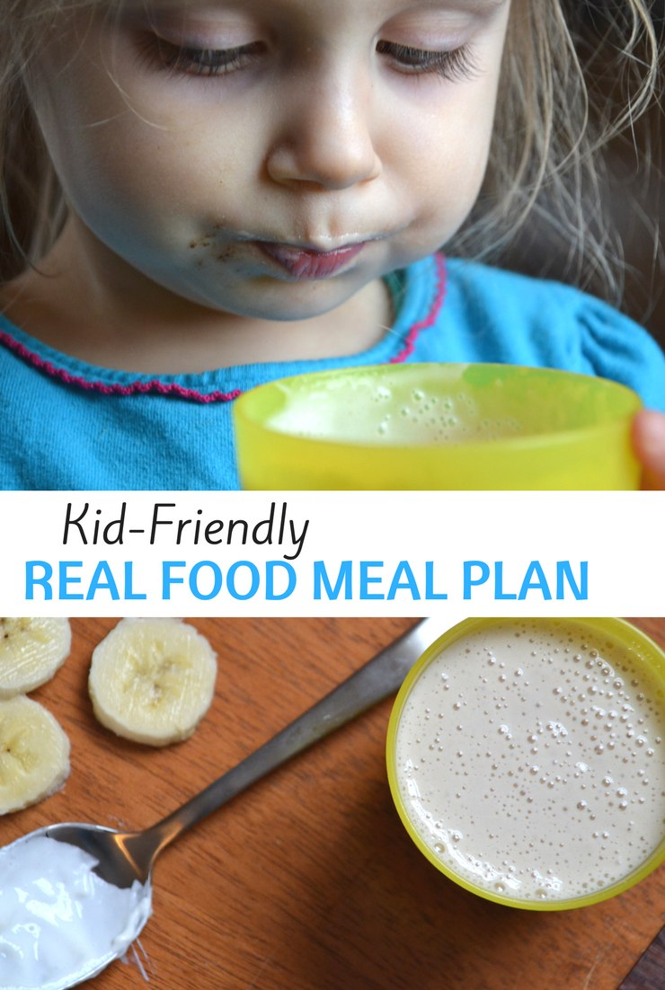 This week's kid-friendly real food meal plan and agenda include getting everyone back to full health, spending lots of time in the kitchen and filling the freezer with pork.