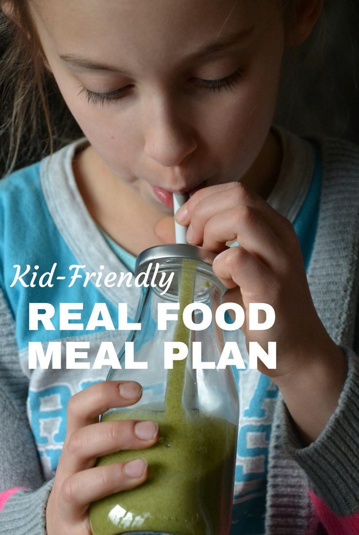 This week's kid-friendly real food meal plan and agenda include catching up in the kitchen and getting back to regular activities.