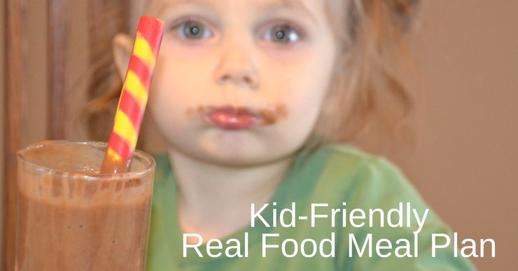 This week's kid-friendly real food meal plan and agenda focus on fun in the kitchen, homeschooling and new activities. It's going to be a busy week!