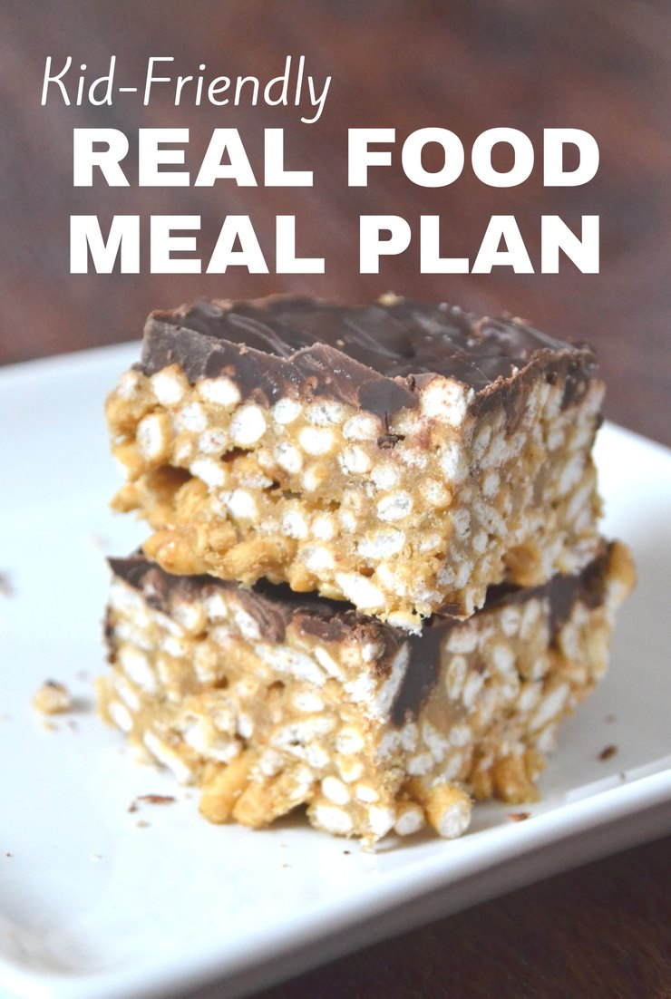 This week's kid-friendly real food meal plan and agenda include our usual activities, Super Bowl and restocking my pantry with homemade staples.