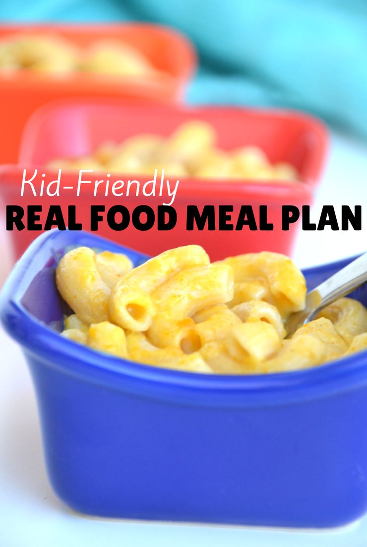 This week's kid-friendly real food meal plan includes stir fry, cheeseburgers and biscuits with gravy! Come see what else we're cooking up in the kitchen.