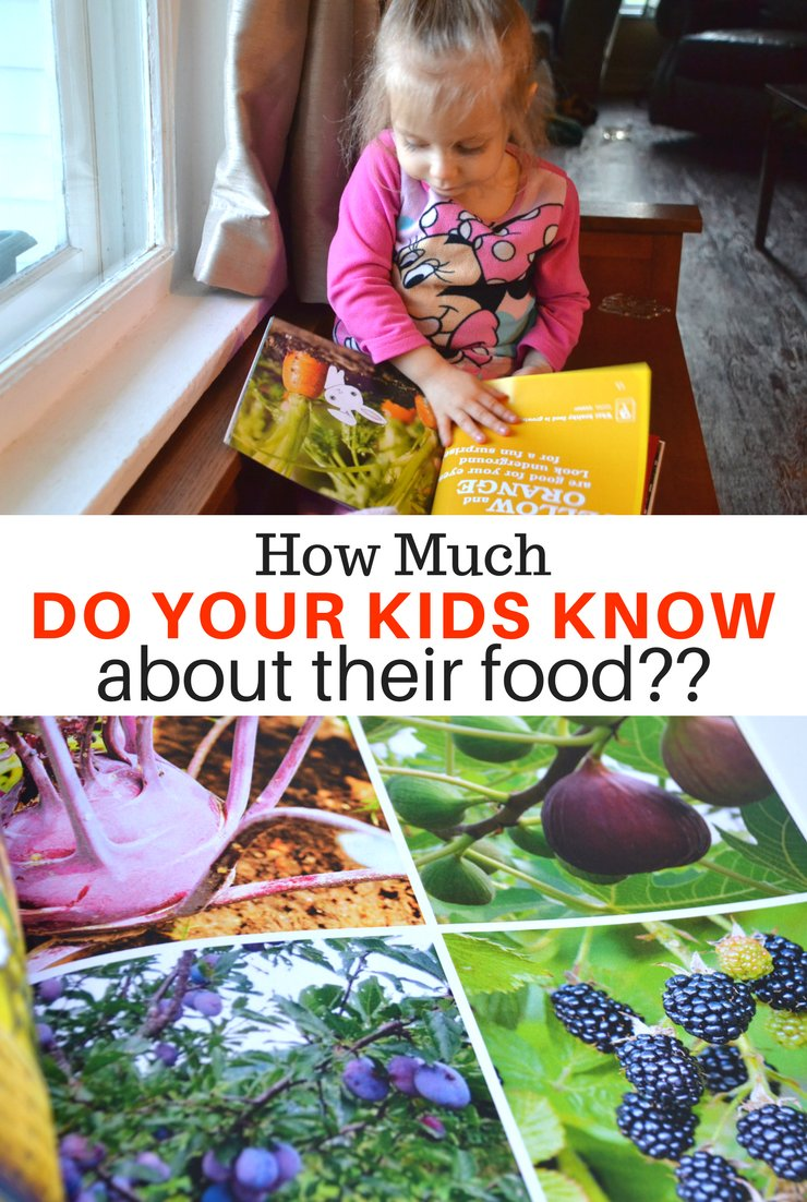 We live in a world where food comes in boxes and bags. Which leads to the question...how much do your kids know about their food?