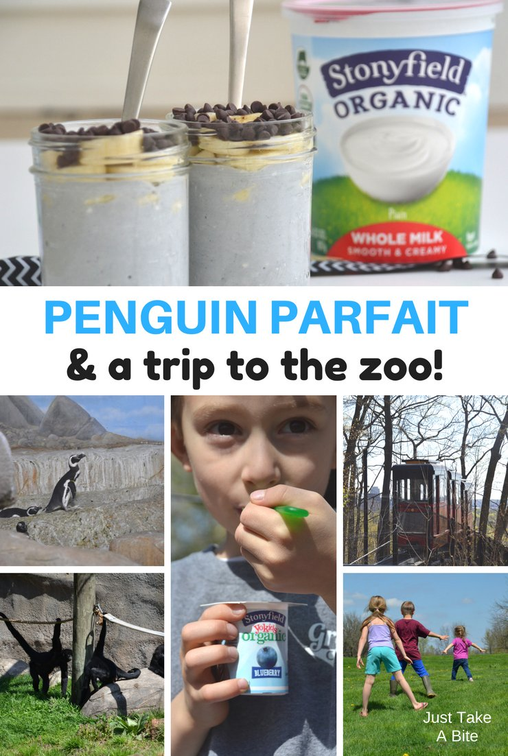 Want to make science fun? Spend a day at the zoo learning about your favorite animals. Top it off with a delicious penguin parfait!