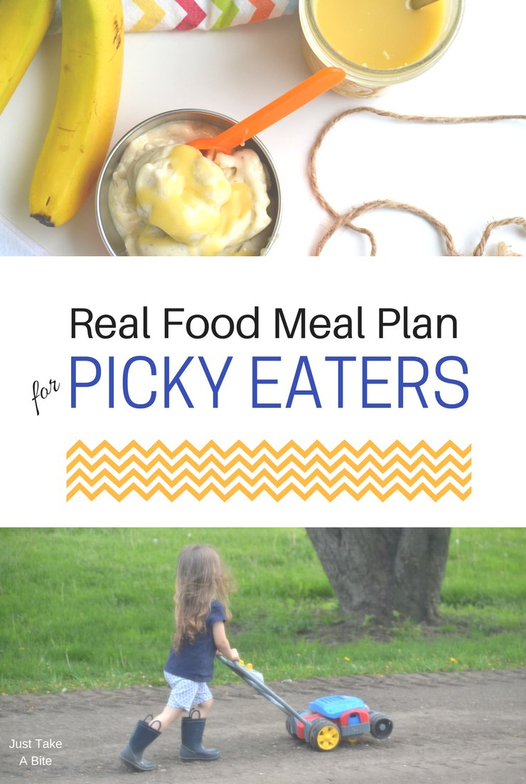 This week's real food meal plan for picky eaters includes pesto pasta, tacos and chili. I hope the warm weather returns so we can get out and enjoy some sunshine!