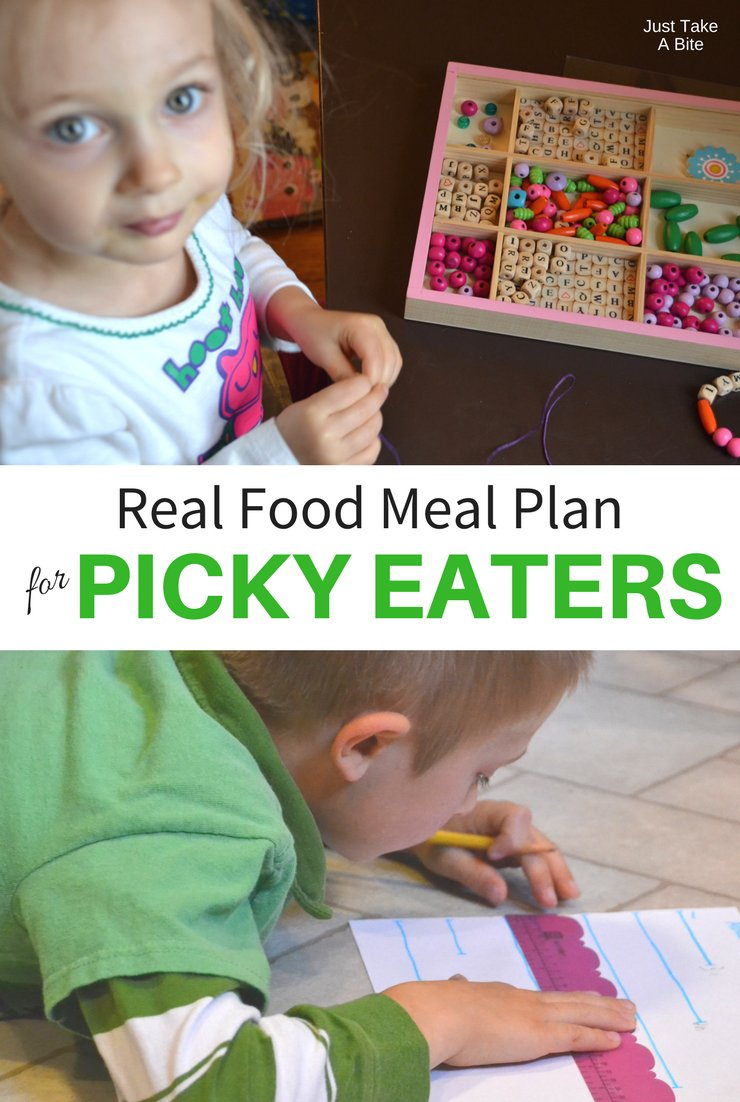 This week's real food meal plan for picky eaters includes sloppy joes, meatballs and creamed spinach (my daughter's request!). Hopefully it will also include a shift to summer weather!