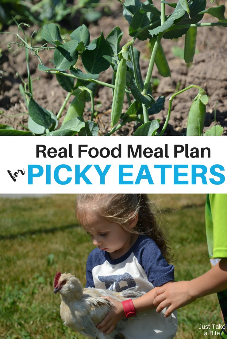 This week's real food meal plan for picky eaters includes party leftovers (mom's favorite!), taco bowls and scrambled eggs. The kids are making dinner all week as we go through the Kids Cook Real Food ecourse!