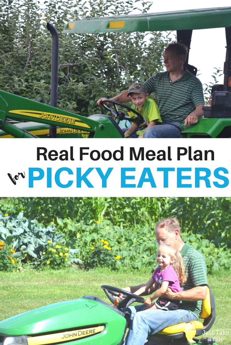 This week's real food meal plan for picky eaters includes zucchini boats, taco bowls and meatballs. Plus all the produce you could ever want.