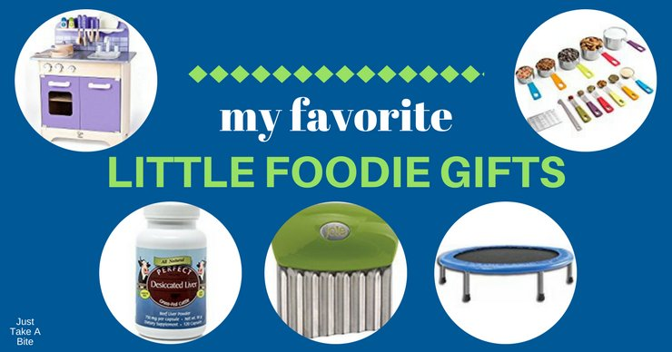 Real foodies love cookbooks and kitchen gadgets. But don't forget about the little ones. Here are my top picks for little foodie gifts.