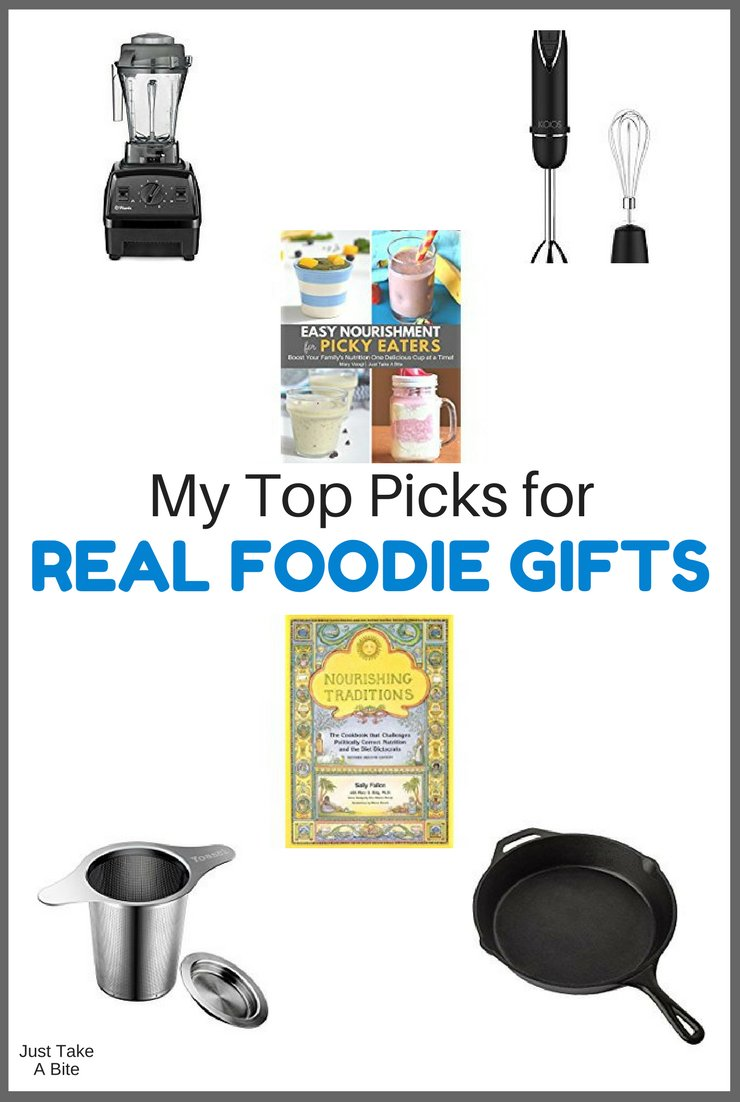 Christmas is just around the corner. What should you get for the real foodie in your life? Here are my top picks for the perfect real foodie gifts that will help promote natural health and well-being.