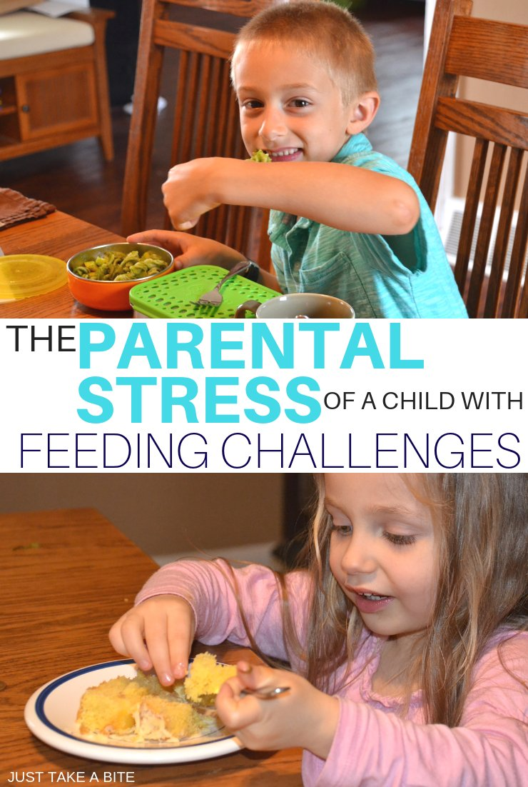 As parents, especially moms, we are wired with the desire to nourish and care for our children. But when your child has feeding challenges it can create a lot of parental stress that is hard to handle.
