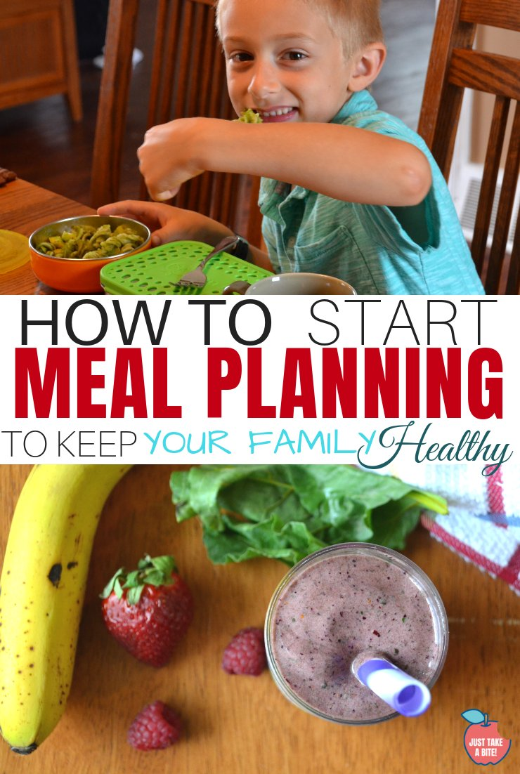 No matter what feeding challenges you face there is one key strategy to keeping your family healthy and well-fed this year. I'm sharing my number one tip...meal planning!