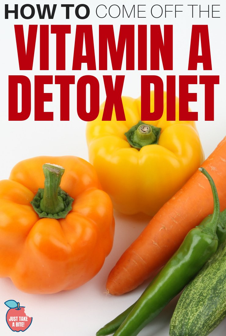 Before starting any new diet you need to know if it is a permanent lifestyle change or a temporary situation. Find out how to come off the Vitamin A Detox Diet before you even start!