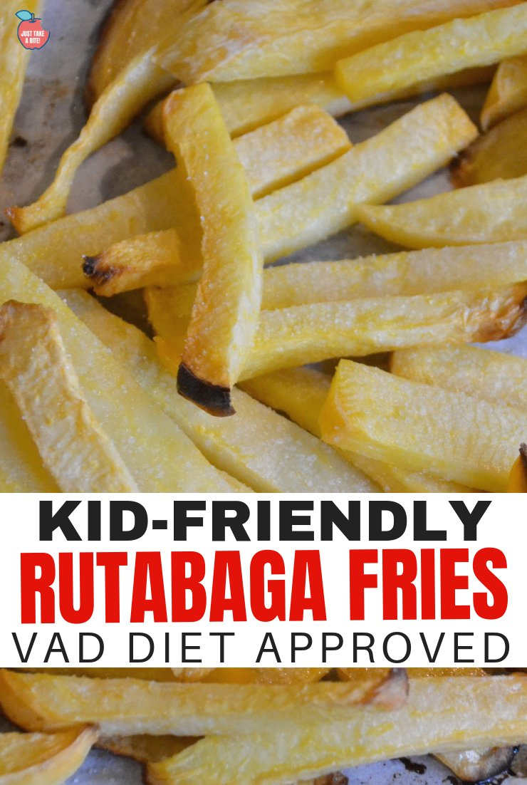 Wondering what vegetables to feed your child on the VAD Diet? Or just looking to add something new to your menu? These rutabaga fries are easy to make and kid approved!